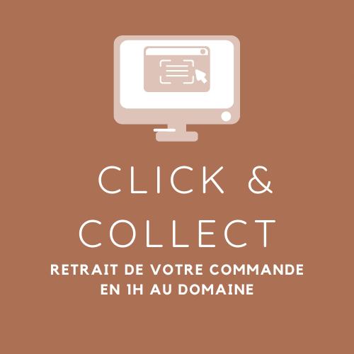 Click & Collect pour un retrait en 1h au domaine